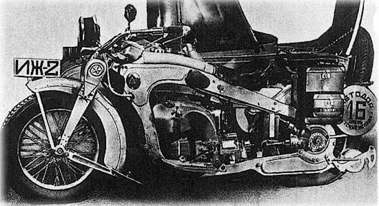 Самый первый мотоцикл иж