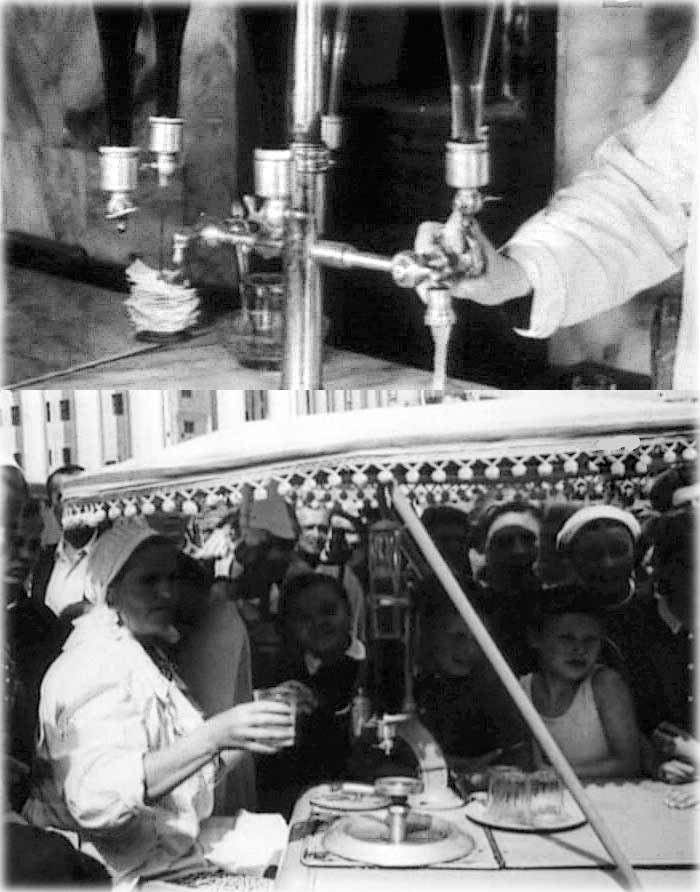 USSR - Juices water on tap.